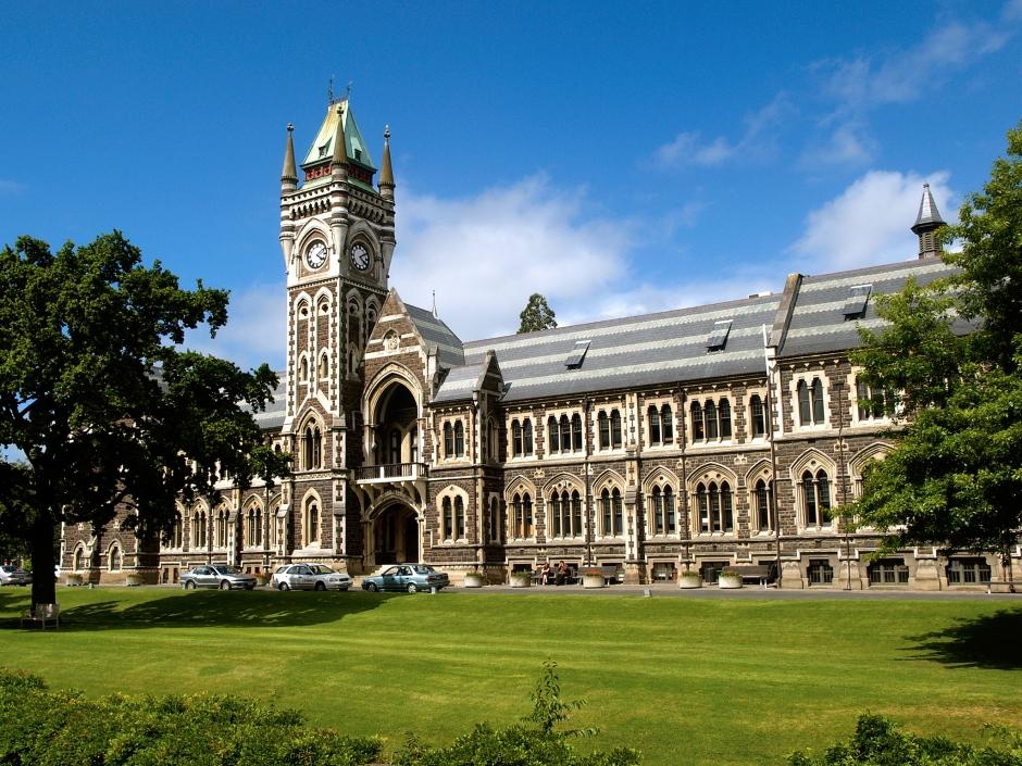 Clocktower Building University of Otago Dunedin New Zealand